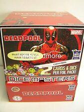 Marvel Dice Masters - Deadpool Gravity Feed Display + Promo Card My Set, My Rule