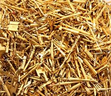 Gold Scrap Recovery 3oz (85.05gr) Gold Heavy Plated Connector Pins Grade A1