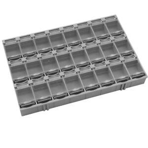SMD Antistatik Container Grau aneinandersteckbar Mäuseklo Sortiment Box 24er