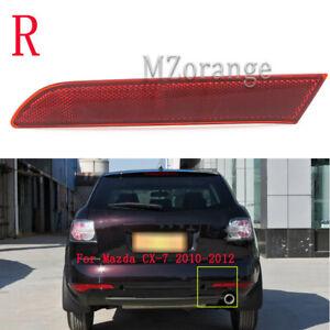 Right For Mazda CX-7 2010 2011 2012 Rear Bumper Lamp Reflectors Red Light Inner