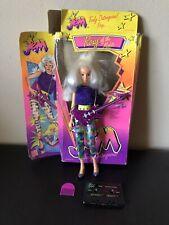 "ROXY Jem and the Holograms Doll MISFITS Vintage 12.5"" Figure Hasbro 1985 W/BOX"