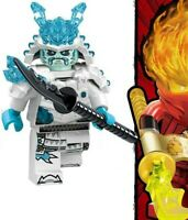 Ninjago Ice Emperor Masters of Spinjitsu Ninja Sword Toy Custom Lego Mini Figure