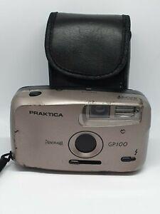 ⭐ Vintage PRAKTICA Panorama GP100 35mm Film Point & Shoot CAMERA + CASE Lomo ⭐