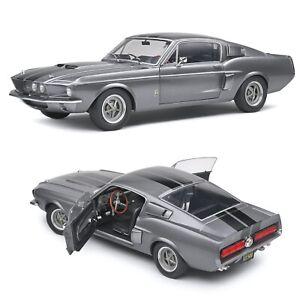 1/18 Solido Shelby GT500 Grey & Black Stripes 1969 Neuf Boîte Livraison Domicile