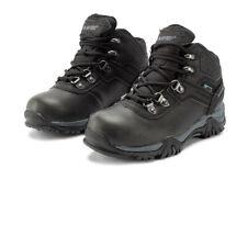 Hi-Tec Boys Altitude VI Waterproof Walking Boots Black Sports Outdoors