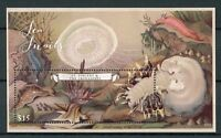 St Vincent & Grenadines 2017 MNH Sea Snails 1v S/S Corals Marine Stamps