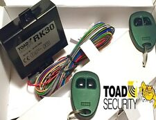 Toad RK30 keyless entry remote central locking upgrade, Green spec, tech support