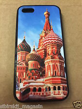 iPhone 5 / 5S - Hard Case - Russland Russia Kreml - Cover Handy Hülle Schale