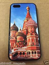 iPhone 5 / 5S - Hard Case - Russland Russia Kreml - Cover Handy Hülle Schale