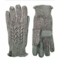 Isotoner Women's Touchscreen Chenille Cable-Knit Gloves One Size - FREE SHIP