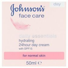 Johnson's Face Care Daily Essentials Hydrating 24 Hour Day Cream With Spf15 50ml
