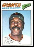 1977 Topps Willie McCovey San Francisco Giants #547