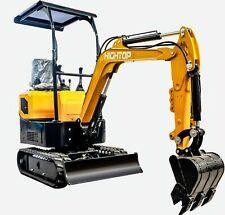 1 Ton Excavator Digging Machine Hydraulic Excavator Digger Bagger For Multi Use