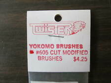 VINTAGE Twisters RC motor brushes  #605 cut Mod.  FREE shipping