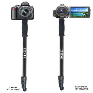 Vivitar VT-67 Monopod 67 inch mono pod with case for camera , camcorder , iphone