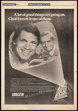 HAGEN__Original 1980 Trade print AD / poster_TV promo__CHAD EVERETT__ARTHUR HILL