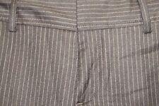 Banana Republic martin 8 dark brown pinstriped 96% wool lined cuffed  pants