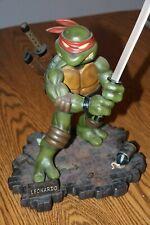 Teenage Mutant Ninja Turtles Leonardo Cold Cast Statue Playmates Mirage 2002