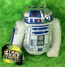 """NWT-1997 Kenner Star Wars Buddies R2D2 Droid 5"""" R2 D2 Bean Bag Plush Toy Great!"""