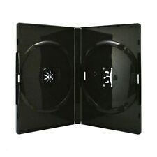Boitiers vides pour 2 DVD (Boitier Dvd Double) Noir - Lot de 10