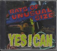 Rats Of Unisual Size - Yes I Can     cd