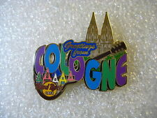 COLOGNE,Hard Rock Cafe Pin,Greetings From Series