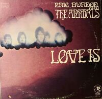 ERIC BURDON & THE ANIMALS*Pre-Owned Double LP *GATEFOLD** LOVE IS *RARELY PLAYED