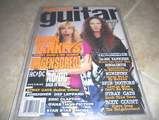 Ted Nugent Signed Autographed Guitar School Magazine PSA Guaranteed