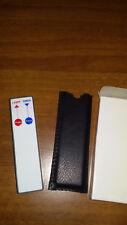 PUNTATORE LASER a batteria, NUOVO, tascabile per presentazioni con torcia a LED