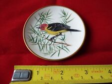 FRANKLIN PORCELAIN SONGBIRDS OF THE WORLD MINI PLATE. #8