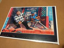 Dustin Darnault Friday Poster Print  15x11 signed Ice Cube Chris Tucker sold out