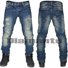 Jeans Uomo pantalone strappato MAX.J denim art 3106  taglia 28 30 32 34 36 38