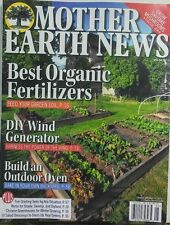 Mother Earth News Apr May 2017 Best Organic Fertilizers Gardens FREE SHIPPING sb