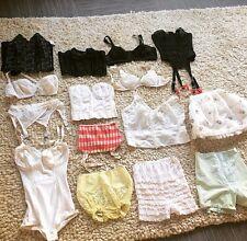 Vintage Lingerie Lot 15 Bra Bustier corsets girdles Garters, Warners, Marlene