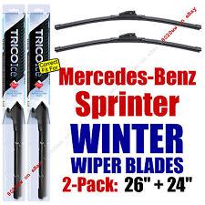 WINTER Wipers 2pk Premium Grade - fit 2010-2015 Mercedes-Benz Sprinter 35260/240