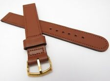 NEET,WW2,16mm,R,40's,Military,Saddle Leather US MADE,MEN'S WATCH BAND,B13-83