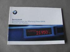 Carnet entretien allemand  BMW E46