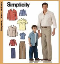Simplicity Adult's Male Sewing Patterns