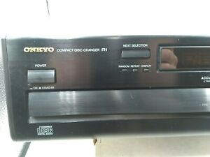 Onkyo DX-C330 6-CD Compact Disc Changer - No Remote parts only. Read description