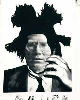 MR CLEVER ART WARHOL BASQUIAT LINES black white contemporary abstract pop art
