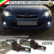 KIT FULL LED HB4 SUBARU LEGACY III 6000K CANBUS 6400 LUMEN FENDINEBBIA