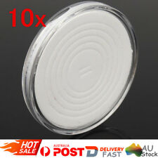 10X Plastic Coin Display Cases EVA Inserts Capsules Holder Storage Box Clear OZ