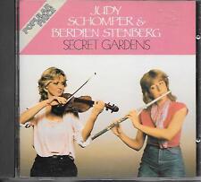 JUDY SCHOMPER & BERDIEN STENBERG - Secret Gardens CD Album 10TR 1980/198? RARE!
