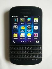 Good  Condition BlackBerry Q10 - Black (Bell Mobility) Smartphone