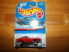 HOT WHEELS, 2000 FIRST EDITIONS, #1 OF 36, FERRARI 365 GTB/4, RED, NEW ON CARD