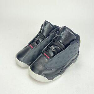 Nike Air Jordan 13 XIII Retro Black Hyper Pink Size 8c Toddler 684802-009