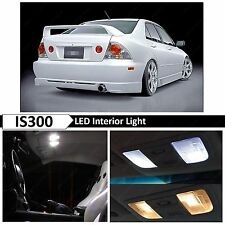 12x White Interior LED Lights Package Kit for 2001-2005 Lexus IS300
