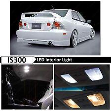 12x White Interior LED Lights Package Kit for 2001-2005 Lexus IS300