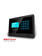 GSM alarm system LCD display motion detector SMS Call Security Burglar wireless
