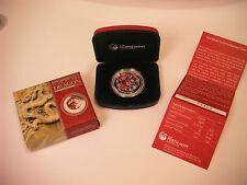 1.Oz.SILVER LUNAR II DRAGON PROOF-COLOR SERIES+BOX&COA+Mint Original Certificate